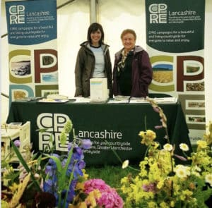 Audrey Dawson at a CPRE event with Anne Kurdock