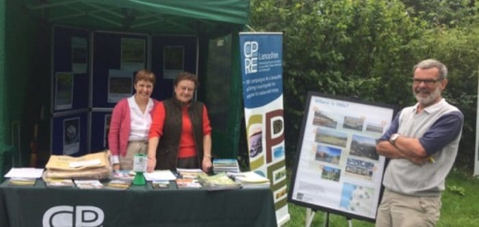 CPRE volunteers at Myerscough Country Show